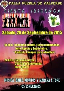 cartel fiesta Ibicenca 15