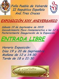 cartel inauguracion exposición