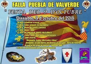 cartel 9 d´octubre 2015