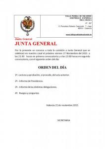 junta noviembre 2015