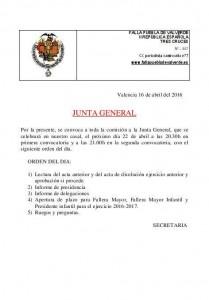 junta general 22-4-16